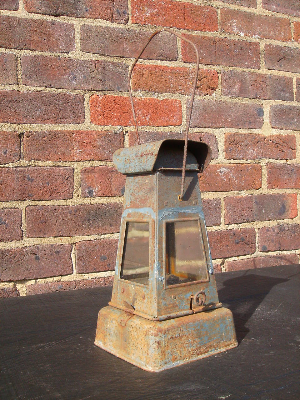 A.R.P. lamp reworked post war