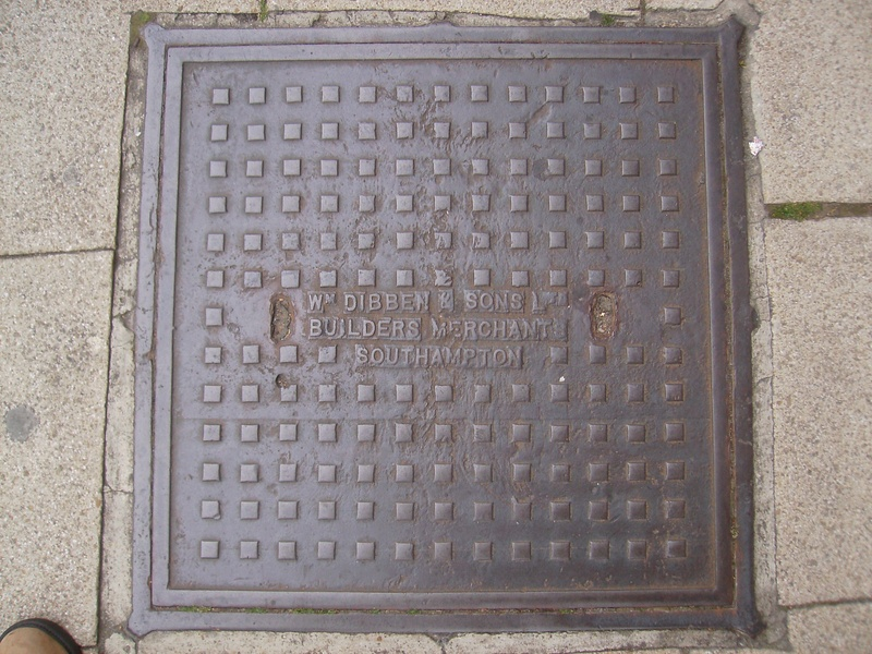 William Dibben Manhole Cover