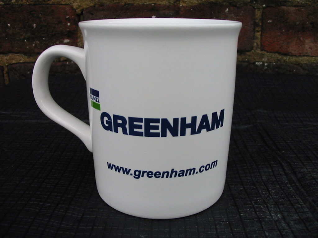 Bunzl Greenham tea mug