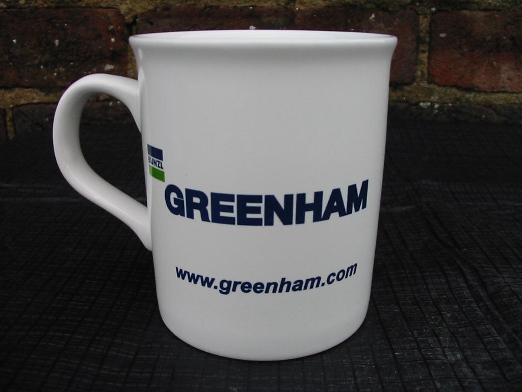 Bunzl Greenham tea mug